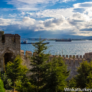 Canakkale, the capital city of the Dardanelles