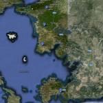 Mapa Sur del Egeo