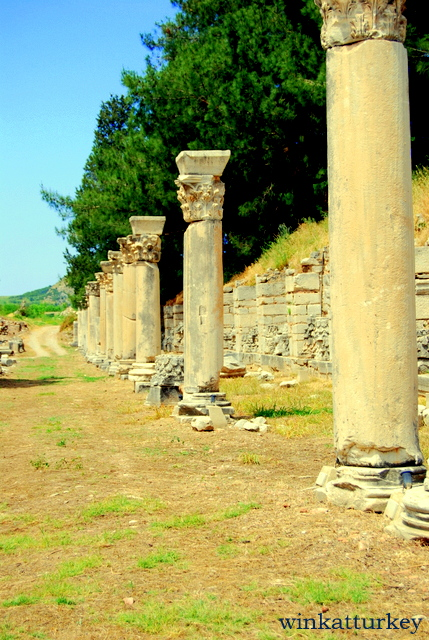 Columns of the Agora