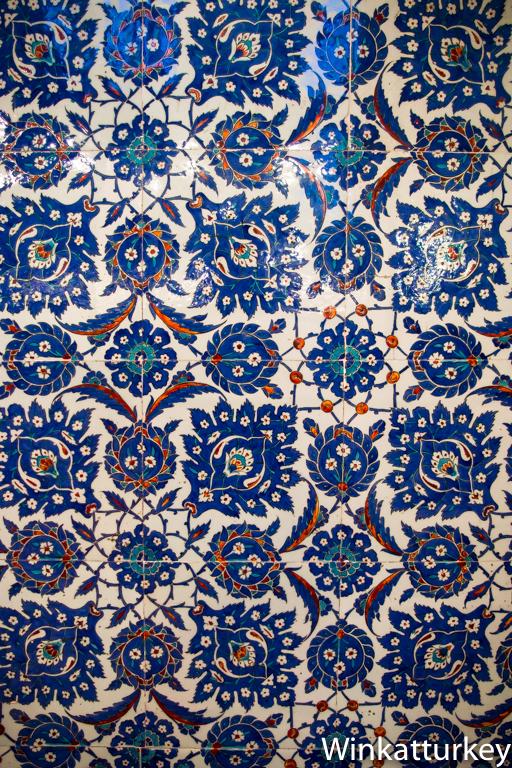 detalle de azulejos de iznik un gui o a turqu a
