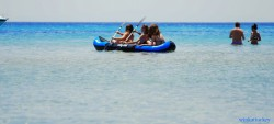 Enjoying the kayak in Altinkum