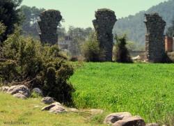 Blow Roman aqueduct