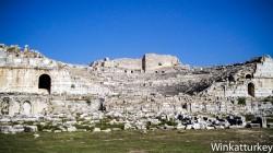 Exterior del teatro de Miletos