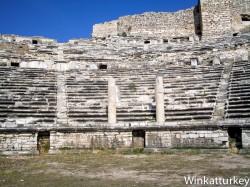Teatro de Miletos desde la escena