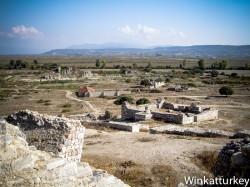 Vista de las ruinas Miletos desde el teatro