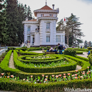 Ataturk Kosku one art nouveau mansion in Trabzon on the Black Sea view it