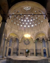 Peculiar dome of the hamam