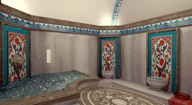 Kervansaray Thermal Hotel Turkish Bath