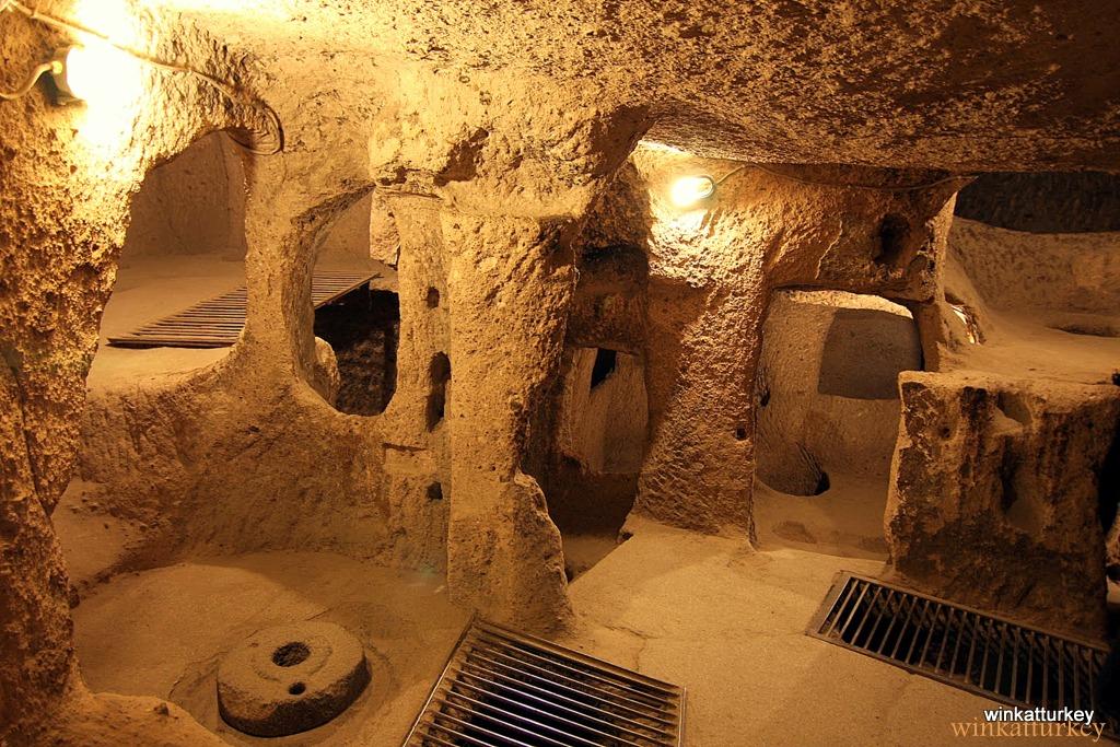 derinkuyu underground cities