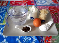 Yogurt soup ingredients