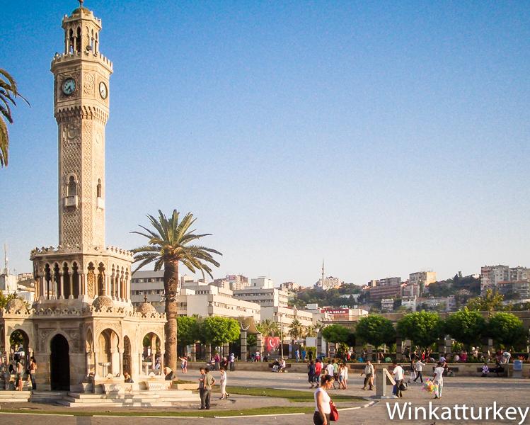 The Izmir icon, Konak square  Wink at Turkey