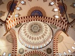 Dome of the mosque Sehzade