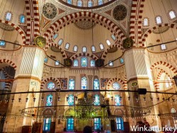 Interior of the Mosque of Sehzade