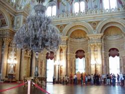 Interior del Palacio de Dolmabahce