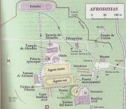 Plan Aphrodisias
